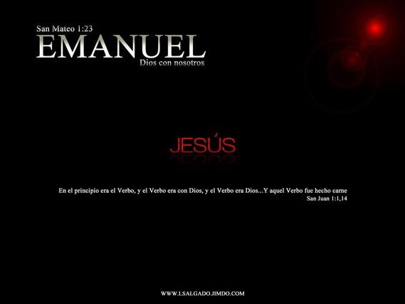 WALLPAPER:  EMANUEL:  DIOS CON NOSOTROS