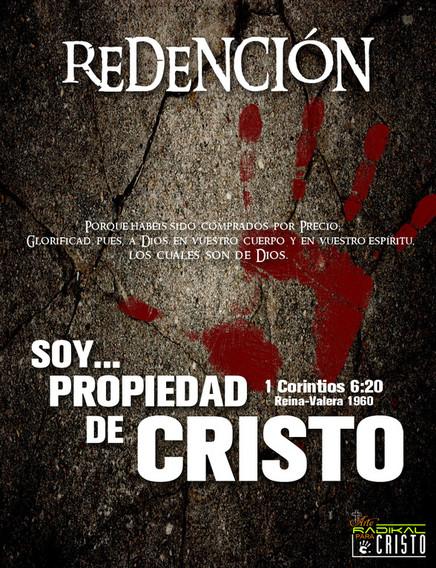 WALLPAPER:  ERES PROPIEDAD DE CRISTO