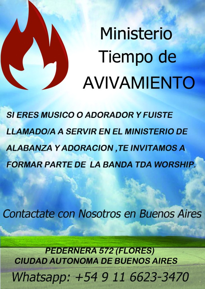 INVITACION TDA WORSHIP