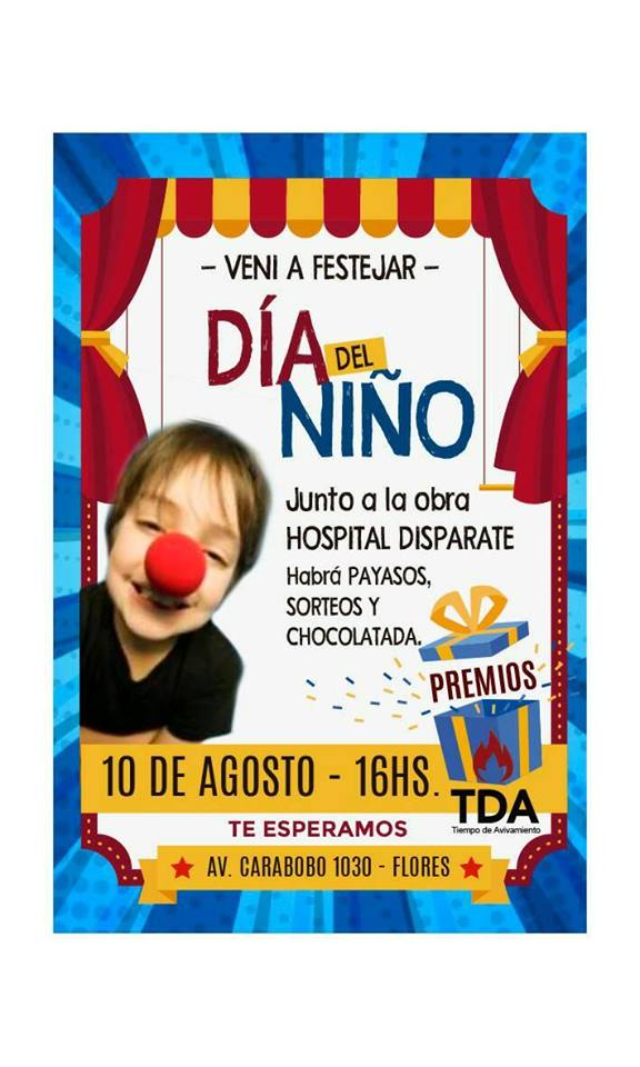 FOLLETO DE INVITACION DIA DEL NIÑO 2019
